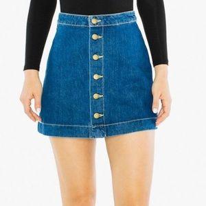 American Apparel A-Line Mini Skirt